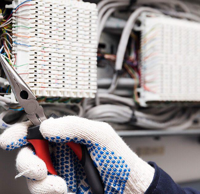 Electrician vocational training program