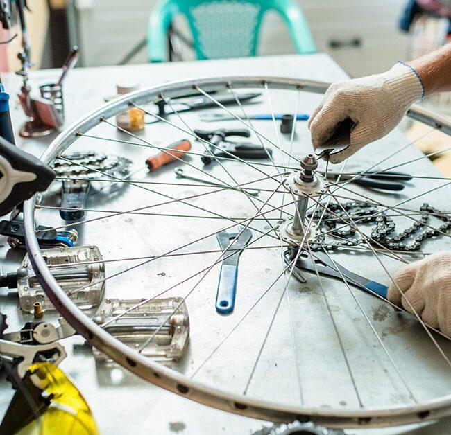 Bike Repair vocational training program