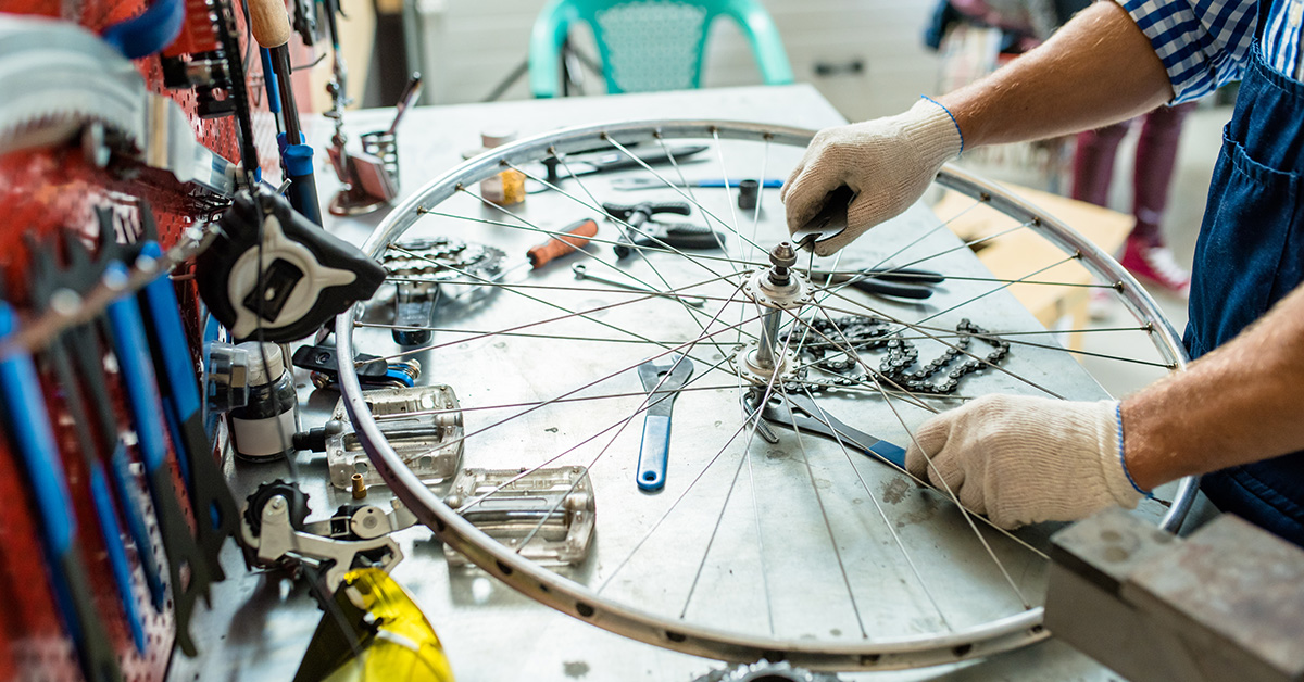 Bike Repair vocational training program