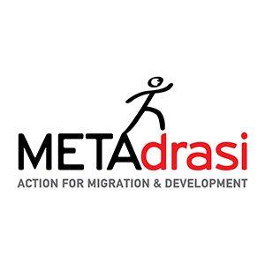 METAdrasi Logo