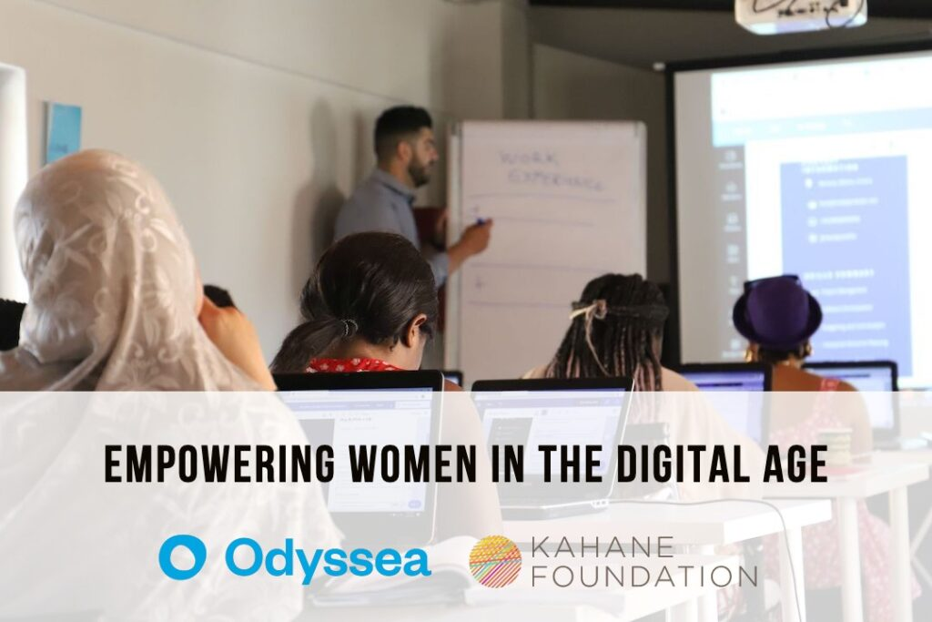 Empowering women in the digital age Odyssea Kahane